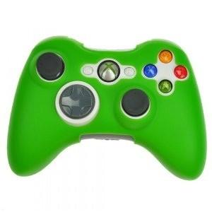 xbox 360 silikonov 253 obal ovladače zelen 253