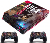 PS4 Pro polep Apex Legends V2