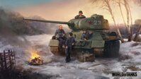 Plakát World of Tanks T-34 HQ lesk