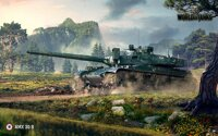 Plakát World of Tanks AMX 30B HQ lesk