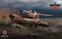 Plakát World of Tanks AMX 50B HQ lesk