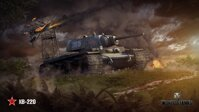 Plakát World of Tanks KB-220 HQ lesk