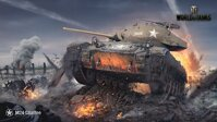 Plakát World of Tanks M24 Chaffee HQ lesk