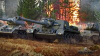 Plakát World of Tanks SU 122 HQ lesk