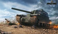 Plakát World of Tanks Type 5 Heavy HQ lesk