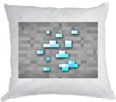 Polštářek Minecraft Diamants Block 40x40cm