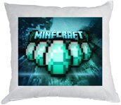 Polštářek Minecraft Diamants 40x40cm