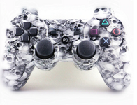 Ovladač PS3 Bluetooth skull
