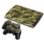 PS3 SuperSlim polep CAMO