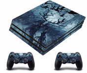 PS4 PRO polep WITCHER