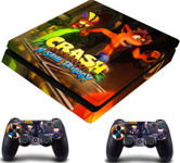 PS4 Slim polep Crash Bandicoot V3