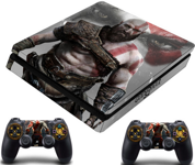 PS4 Slim polep GOW