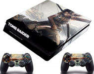 PS4 Slim polep Tomb Raider