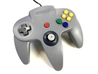 USB N64 Design PC ovladač - šedá