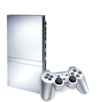 Playstation 2 Slim 70000 silver