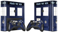 XBOX 360 E polep DOCTOR WHO