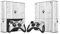 XBOX 360 E polep WHITE WOOD