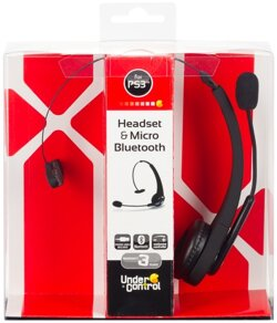 Headset + Micro Bluetooth PS3