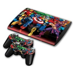 PS3 SuperSlim polep SUPER HEROES
